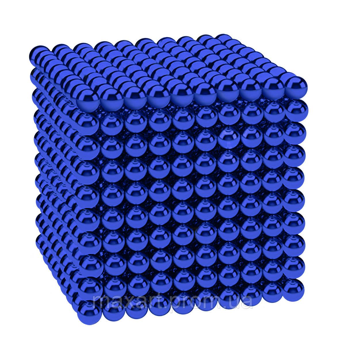 Магнитные шарики-головоломка SKY NEOCUBE (D5) комплект (1000 шт) Blue