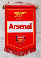 Вымпел флаг Arsenal FC