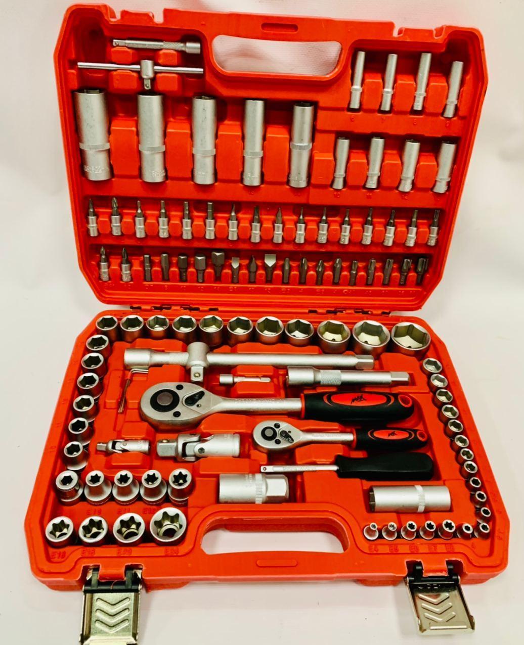 Набор головок ключей инструментов Max 108 елементов,ударопрочный кейс!