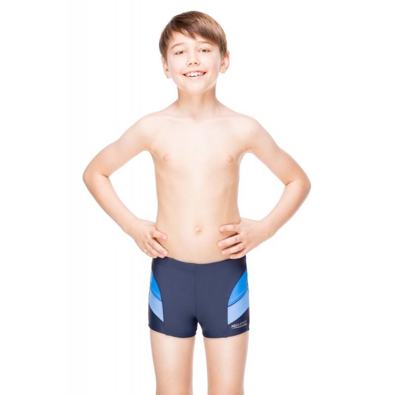 Плавки для мальчика Aqua Speed Andy 116 см Темно-синий с голубым