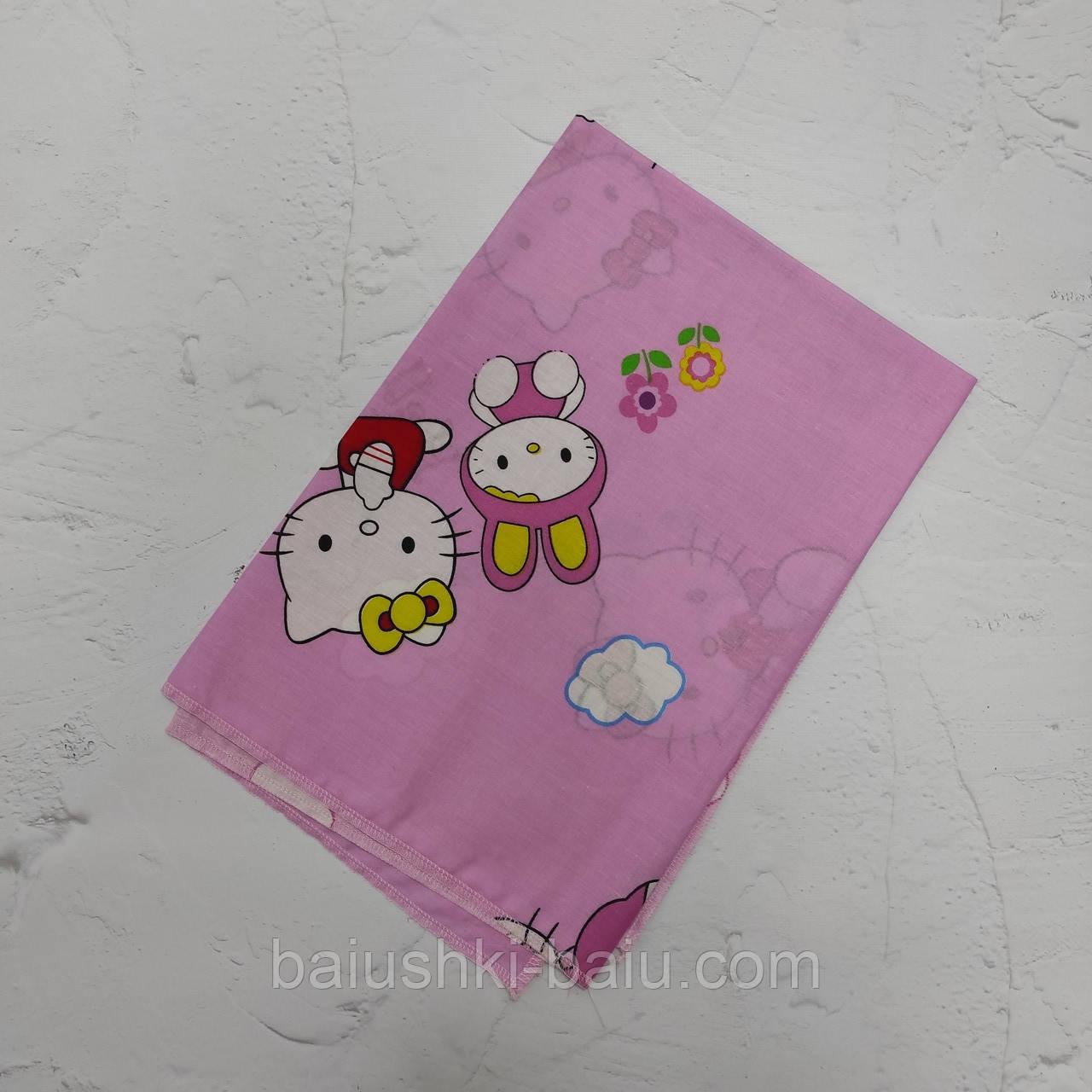 Пеленка для новорожденной девочки в роддом, бязь
