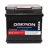 Аккумулятор автомобильный Oberon 6СТ-50 Aз Eurostandard, фото 2