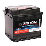 Аккумулятор автомобильный Oberon 6СТ-50 Aз Eurostandard, фото 3
