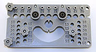 Кондуктор шаблон для установки мебельных ручек, фурнитуры