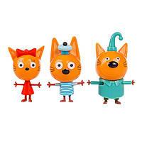 Игровой набор Три кота Коржик, Карамелька и Компот (T17171)
