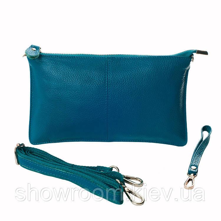 Клатч - сумка  (бирюзовый цвет) 2628