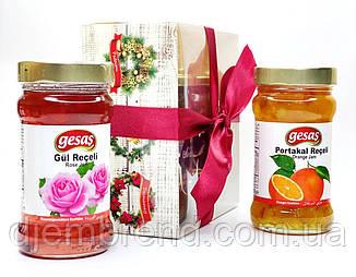 Набор из двух джемов: Роза и Апельсин, ТМ Gesas