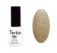 Гель-лак №061 Tertio, Белая Ночь с голографическими-блестками