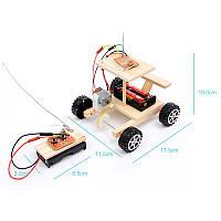 Машинка на радіоуправлінні(варіант 2), конструктор дитячий - саморобка