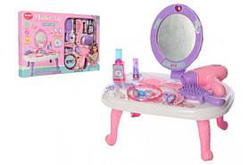 Детский игровой набор Косметический столик | Набор столик, фен, расческа