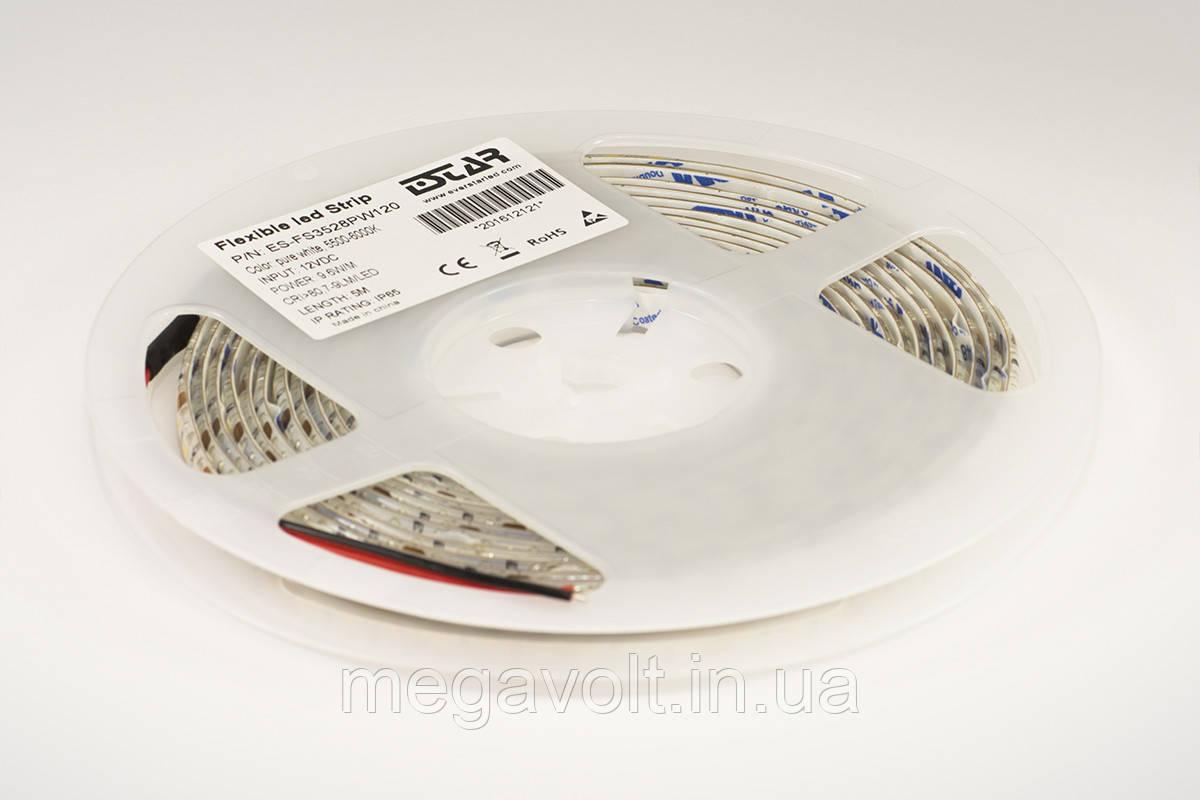 Светодиодная лента ESTAR SMD 3528/120 (IP65) premium 12V нейтральная белая (3800-4300К)