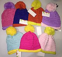Вязанные модные шапочки