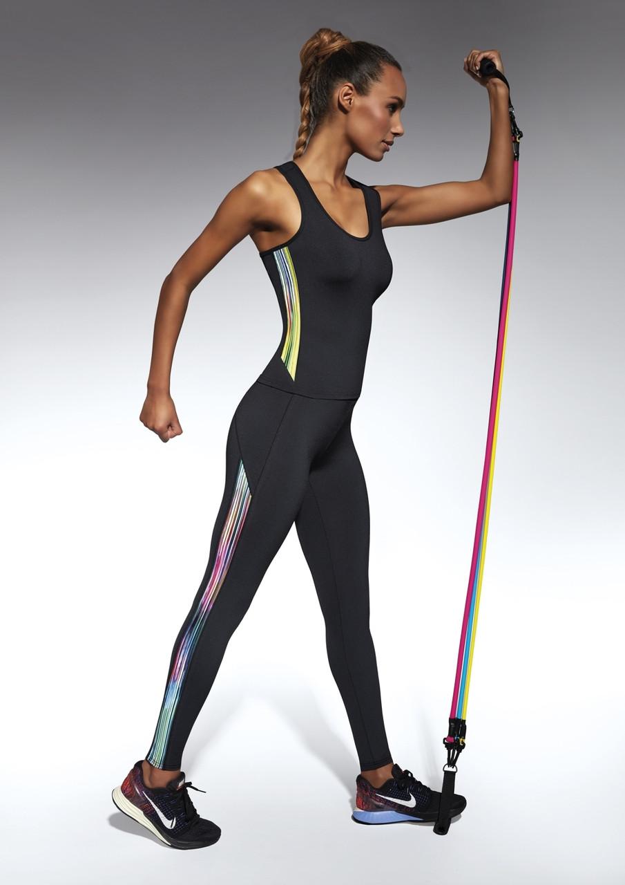 Спортивные женские легинсы BasBlack Cosmic black S