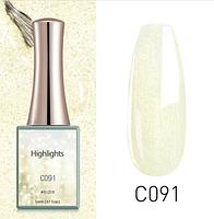 Гель-лак Highlights Canni, 16 мл, №C091