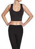 Спортивный женский топ BasBlack Teamtop black/graphite S, фото 2