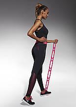 Спортивний костюм жіночий Bas Bleu Inspire S Чорний з рожевим (70467017)