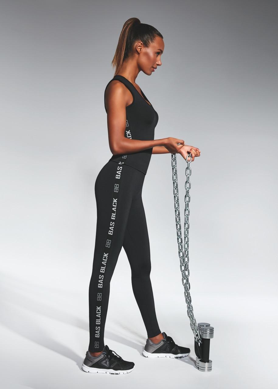 Спортивні жіночі легінси BasBlack Emotion М Чорний