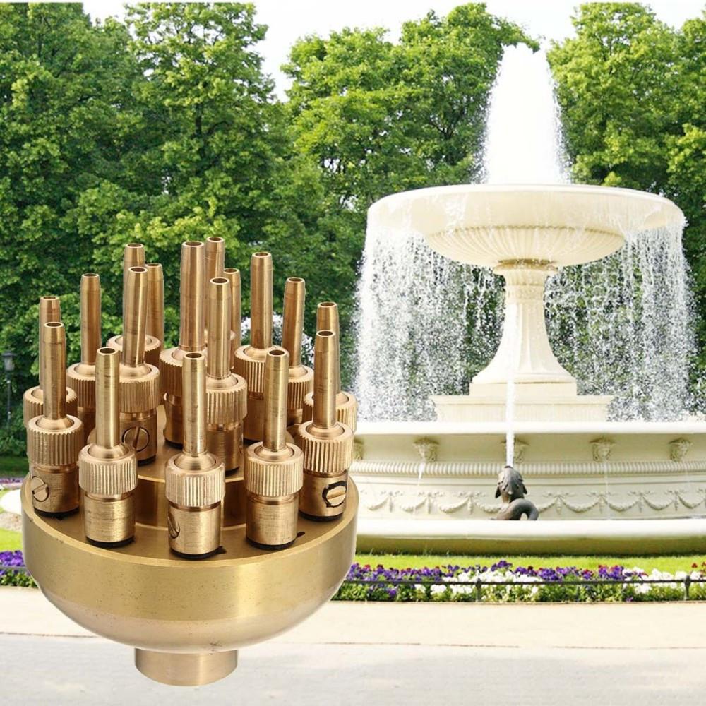 Насадка  для фонтана Фейерверк 17 струй 1 дюйм