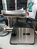 Электро мясорубка-соковыжималка кухонная для дома с насадкой для томатов Zepline ZP-002 3000w  шнековая, фото 3