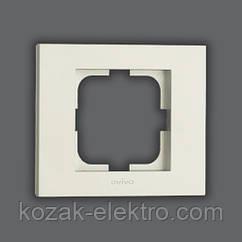 GRANO Рамка 1-ая цвет белый