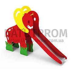 Игровой комплекс горка слоник