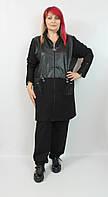 Турецкий женский брючный костюм больших размеров 58-66