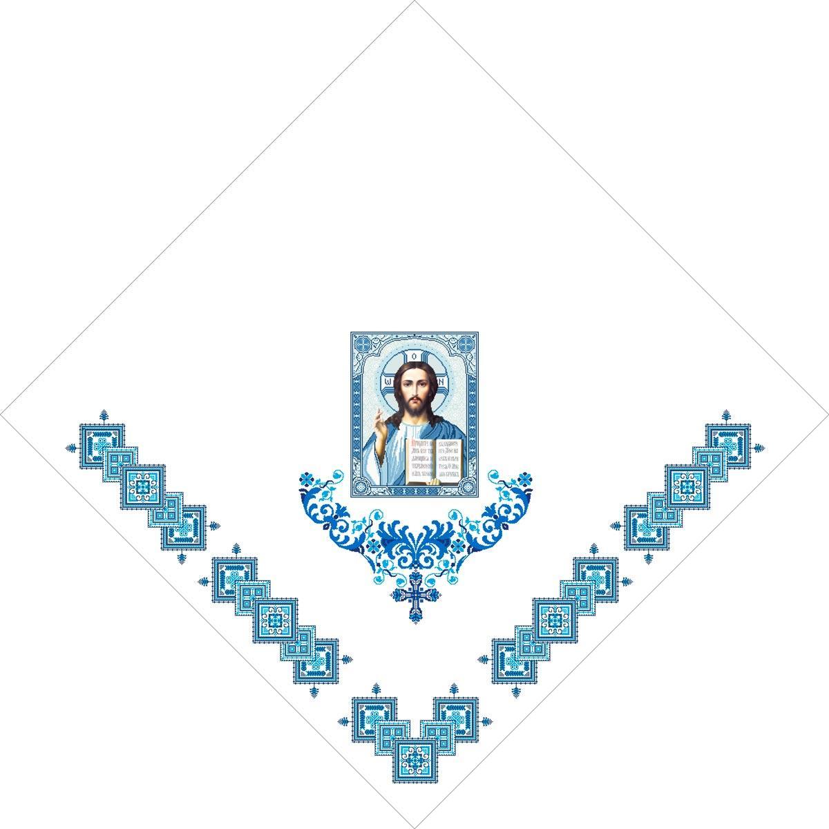 Х-021. Схема для вишивки бісером Фана церковна.