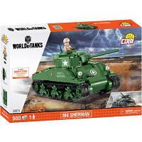 Конструктор Cobi World Of Tanks Шерман Файрфлай 500 деталей (COBI-3007A), фото 1