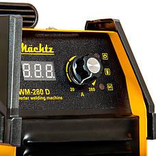 Сварочный инверторный аппарат Mächtz MWM-280 D, фото 3