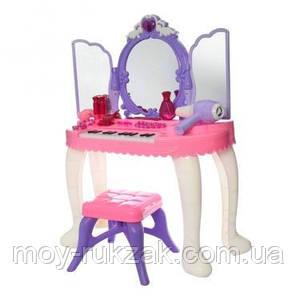 Детское игровое многофункциональное трюмо с пианино, аксессуарми, YL80015, фото 2