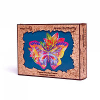 Пазл-головоломка Wood Trick Драгоценная Бабочка (170 деталей)