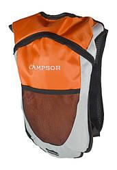 Велосипедний рюкзак-гідратор Campsor Помаранчевий