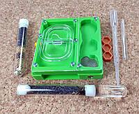 """Повний комплект : мурашина ферма """"ЕКО"""" + мурахи messor structor (жнець), корм та аксесуари"""