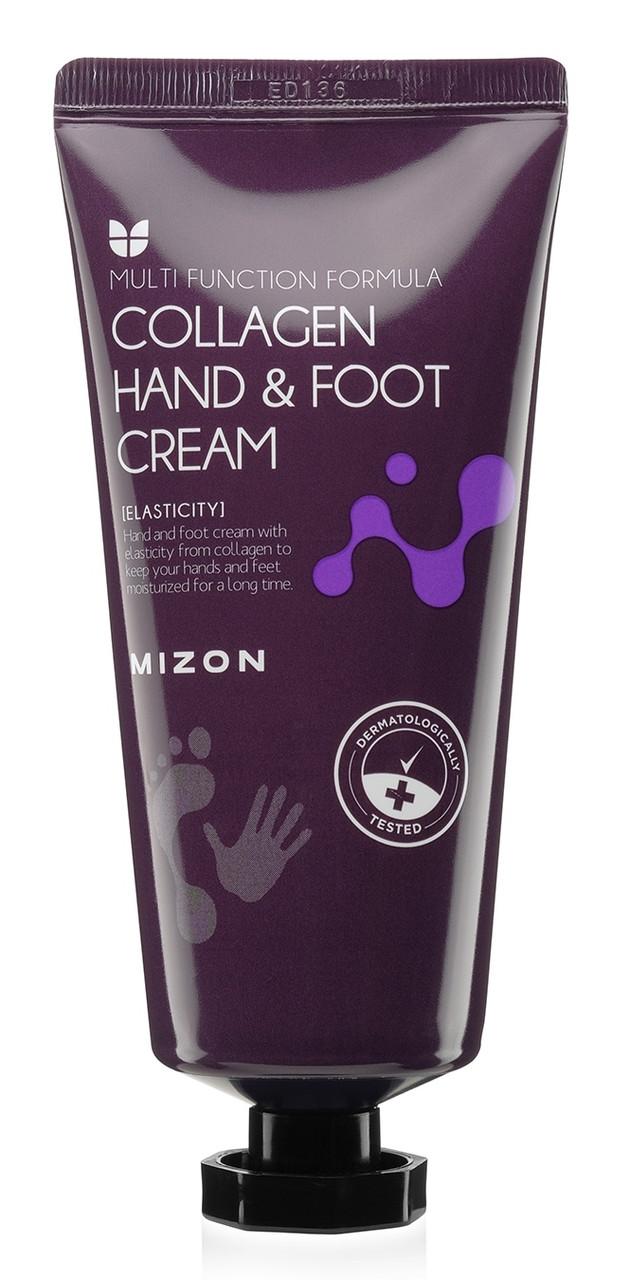 Крем для рук и ног с коллагеном Mizon Hand and Foot Cream Collagen 100 мл