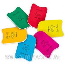 Доска для плавания EVA PL-4401 (EVA, р-р 45x30x3,5см, цвета в ассортименте)
