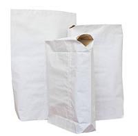 Мешки бумажные белые влагопрочные для ССС 2-48х35х12 см