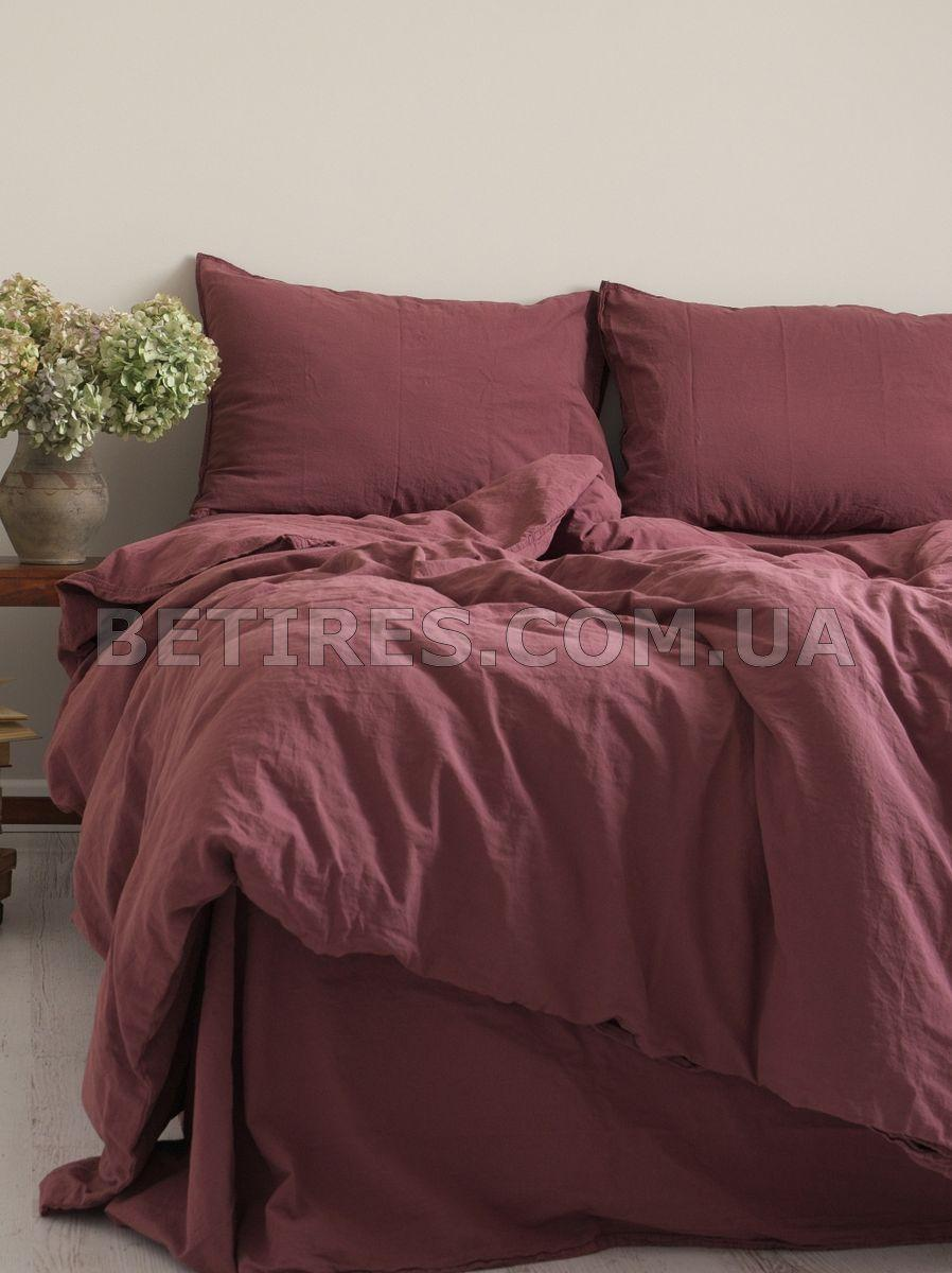 Комплект постельного белья 200x220 LIMASSO RASPBERRY STANDART вишневый