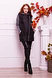 Куртка теплая с капюшоном серого  цвета   от YuLiYa Chumachenko, фото 2