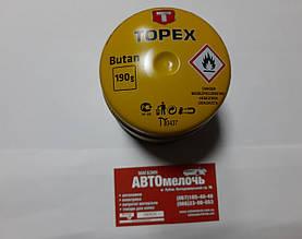 Газ в балоні пробивний 190g вир-во Topex