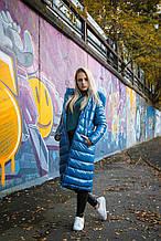Детское пальто для девочки Верхняя одежда для девочек Bomboogie Италия CG022D Голубой