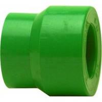 Переходник, PP-R, D = 50x25мм, зеленый
