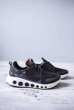 Мужские кроссовки Супо Нью Лайф Pobedov (черно-белые), фото 2