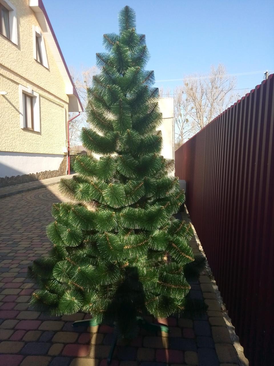 """Сосна штучна """"Смарагдово-зелена"""" 2.3 м"""