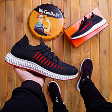Мужские кроссовки Вонекс Фла Pobedov (черные), фото 3