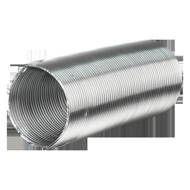 Труба вентиляционная алюминиевая гибкая Алювент М 150/3 метра