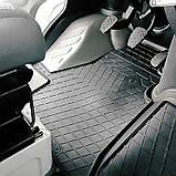 Ковры салона Renault Trafic II 01-/Nissan Primastar 01-/Opel Vivaro I 01- (комплект - 3 шт) (design 2016), фото 2