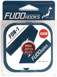 Леска рыболовная Fudo Hooks FDN-1 100 м 0.4 мм 15.6 кг