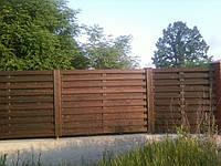 Изготовление деревянных заборов, ограждений