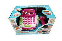 Кассовый аппарат сканер, калькулятор,батар, в кор.28,5*17,5*18см /18-2/ (FS-34442)