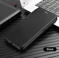 Чехол книжка Level для Xiaomi Mi Note 10 Black